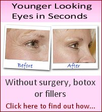 Younger Looking Eyes in Seconds
